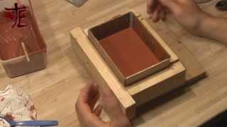 Beton gießform bauen