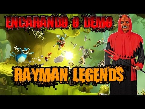 Rayman Legends - demo completo