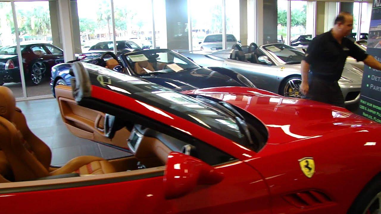2010 Ferrari California Walk Around Naples Motorsports
