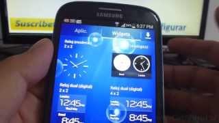 Como Desinstalar Widgets En Android Samsung Galaxy S3