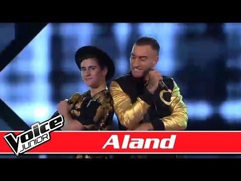 #TeamJoeyMoe: Aland & Joey Moe synger 'Klar På Mig Nu' - Voice Junior Danmark - Finalen - Sæson 2