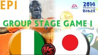[TTB] 2014 FIFA World Cup Brazil Ivory Coast Vs Japan