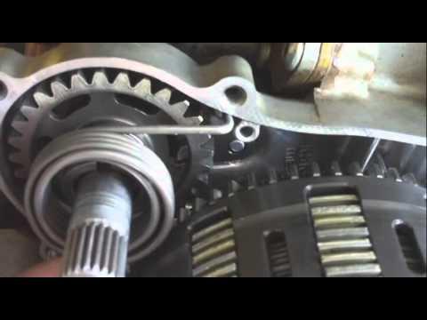 Kawasaki Kx Kickstarter Gear