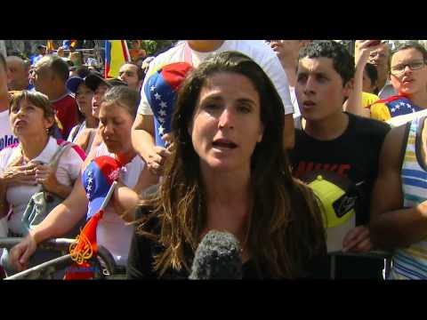 Mass rival protests staged in Venezuela