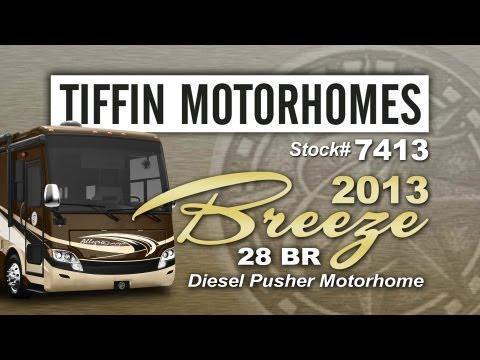 2013 Tiffin Allegro Breeze 28BR Class A Diesel Motor Home
