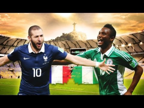 Fifa World Cup 2014 | France Vs Nigeria & Germany Vs Algeria