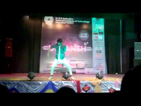shut up dance nit jalandhar utkansh 2014 performed by Ajay Bhargav