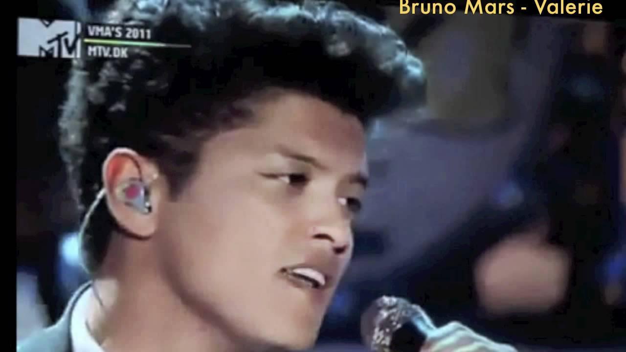 Bruno mars valerie live version amy winehouse tribute youtube