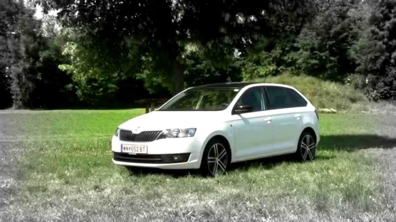 skoda rapid spaceback youtube. Black Bedroom Furniture Sets. Home Design Ideas