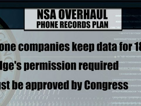 Obama to propose overhaul to NSA phone surveillance program
