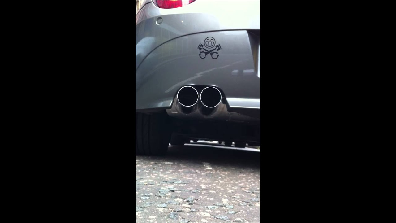 Z4 3 0i Eisenmann Race Exhaust Youtube