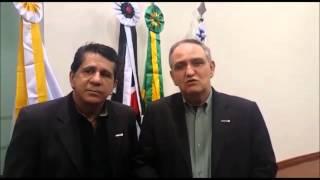Pedro Correa e David Martins reforçam Solidariedade em Itapeva