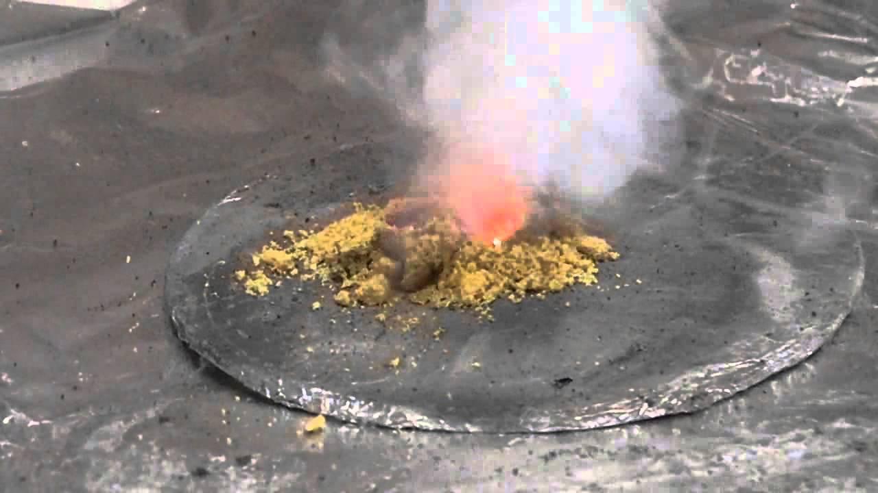 Почему не горит калиевая селитра
