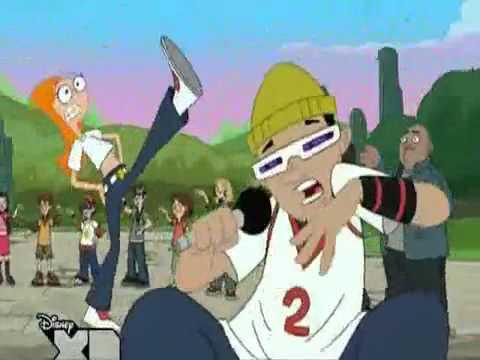 """Phineas et Ferb - Des écureuils dans mon pantalon, La chanson que l'on retrouve dans l'épisode """"Un après midi avec Suzy"""""""