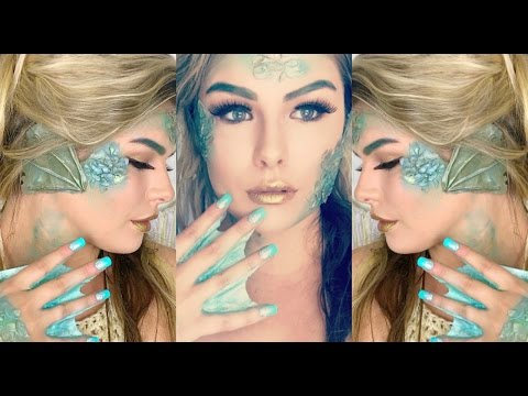 Mermaid Halloween Makeup Tutorial