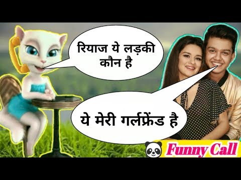 Pahadan New Song Riyaz Vs Billu Comedy Funny call | Riyaz Tik Tok Video by Tom with fun