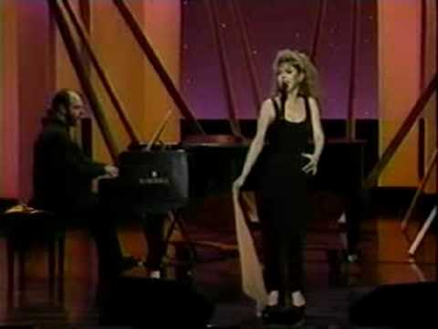 Bernadette Peters on The Tonight Show July 1989, Part I