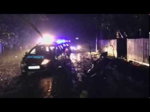 Hurricane Force Storm Hits Southern Britain