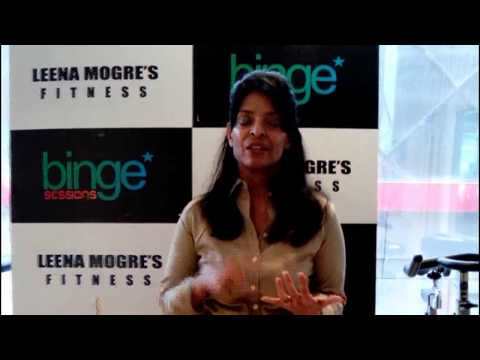 Impact of lifestyle on fitness by Leena Mogre