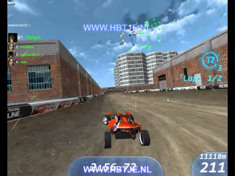 Trackracing Online gameplay