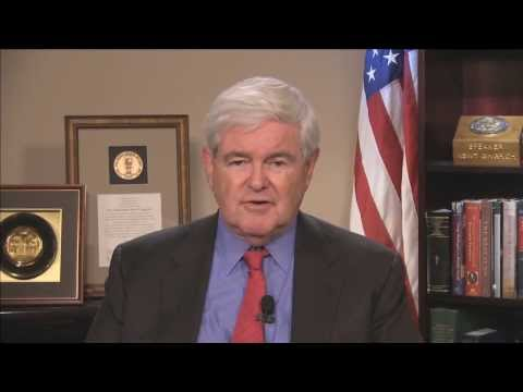 Newt Gingrich does the Hour of Code