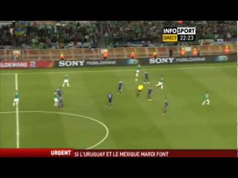 WORLD CUP 2010 - FRANCE 0-2 MEXICO (Grp A  second match)