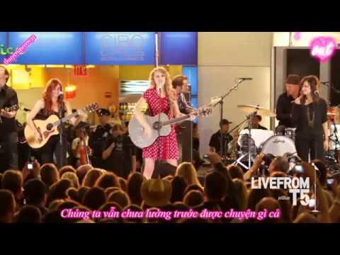 [Vietsub] Mine - Taylor Swift Live From JetBlue T5 {thuyenquyen92}