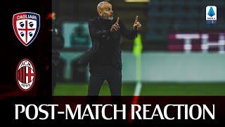 #CagliariMilan   Post-match reactions