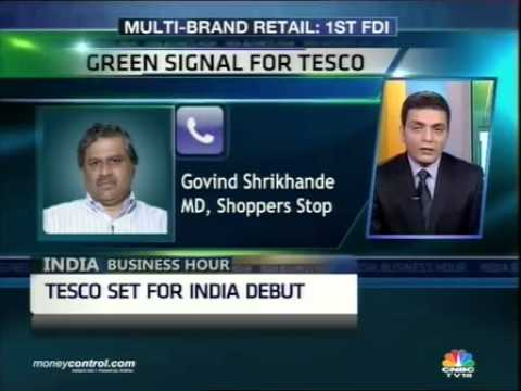 FIPB Tesco nod to attract more cos in India: Shoppers Stop