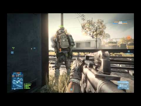 Petits fails entre amis sur Battlefield 3