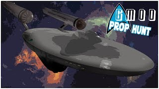 Gmod Prop Hunt - Space Station! (Funny Moments)