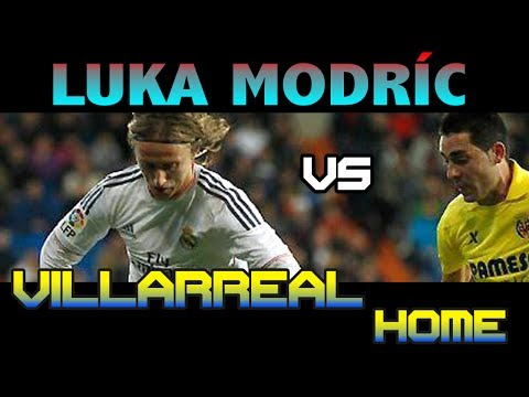Luka Modric vs Villarreal Home ( 08 - 02 - 2014 / 08/02/2014 - 08.02.2014 ) [HD]