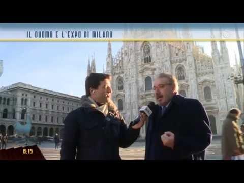 Il Duomo e l'Expo di Milano