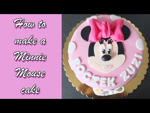 How to make a Minnie Mouse cake / Jak zrobić tort z Myszką Minnie