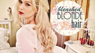 HOW TO BLEACH HAIR FAST + WITHOUT DAMAGE!