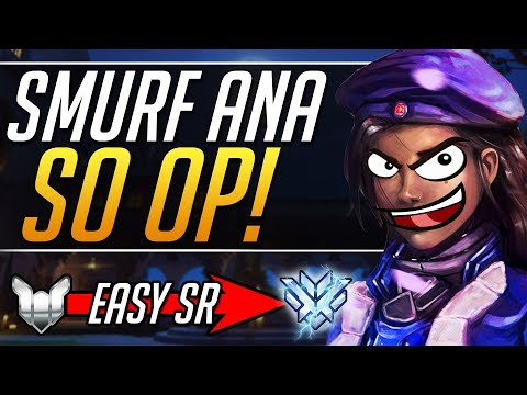 SMURF ANA - Pro Ana Tips Gameplay Guide | Overwatch Guide