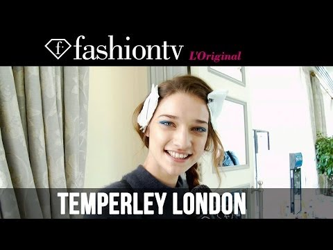 Temperley London Fall/Winter 2014-15 Backstage | London Fashion Week PFW | FashionTV