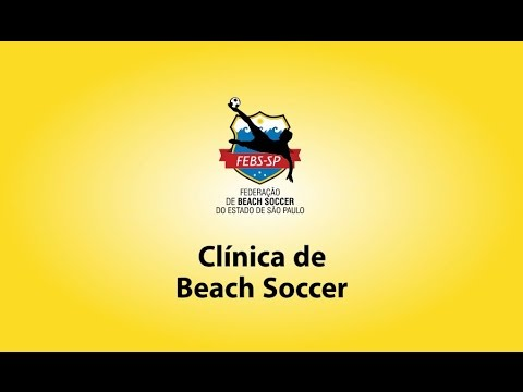 Garotos treinaram os principais fundamentos do beach soccer