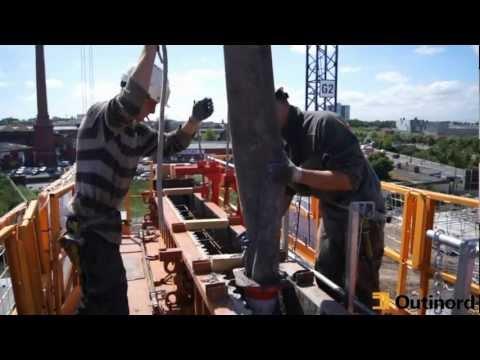 Coffrage Outinord  B8000 EVO3 Roubaix grande hauteur  Central biomasse de 20 MW 2011