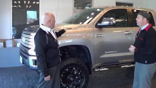 Freeman Toyota's Adam Minkley Shows A 2014 4x4 Tundra
