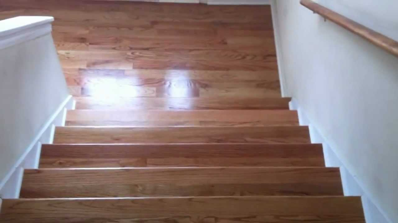 What Does An Unfinished Hardwood Floor Looks Like After