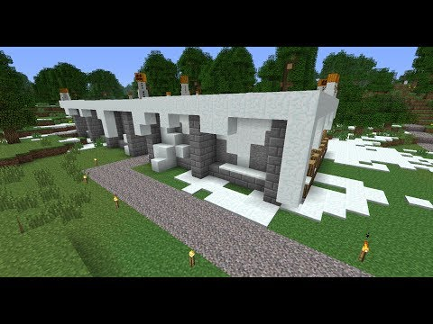Minecraft - Spaceboot1's Garden 08Þ - Snow Factory