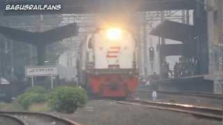 "Indonesia Raya And Indonesian Railway ""Bendera"""