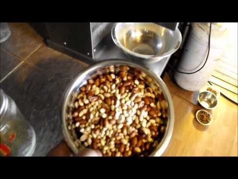 Off Grid Style Making And Mixing Bird Food  And Its All Natural