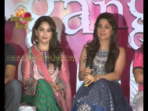 Launch of Song Dheemi Dheemi for the film ''Gulaab Gang'' 3