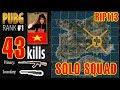 RIP113 PUBG RANK 1 Breaking The World Record SOLO SQUAD 43 KILL PLAYERUNKNOWN S BATTLEGROUNDS