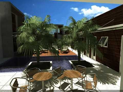 Maquete eletrônica de casa em Itatiba, condomínio Residencial Santa Rosa