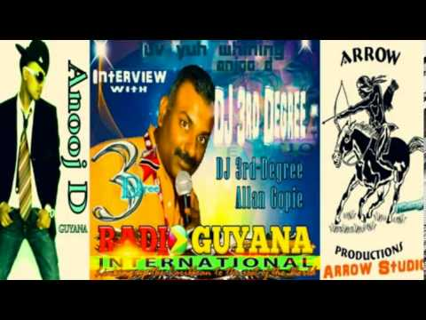 DJ 3rd Degree - Allan Gopie Interview ((Anooj D)) on Radio Guyana International