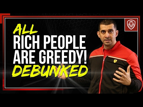 Are Rich People Greedy?