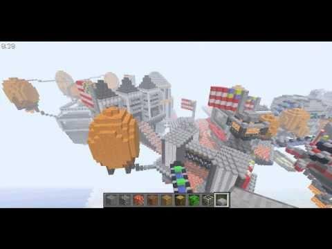 Город Колумбия воссоздан в Minecraft!
